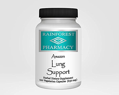 Amazon Lung Support 120 Vegetarian Capsules/650 mg