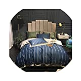HANBINGPO 1000TC Egyptian Cotton Luxury Duvet Cover Bed Set Queen King Size Bedding Set with Bed Sheet or Fitted Sheet Pillow Shams,Bedding Set 6,Queen Size 4pcs,Bed Sheet Style