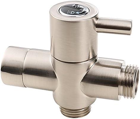 Matee Brass 2 Way Shower Arm Diverter Valve Replacement Part For