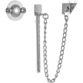 "1-5//16/"" Zinc Plated Sliding Window /& Door /'Nite-Lock/' Pin with Ball Stop 25 Pack"