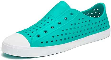 8baabd1d805 SAGUARO Mens Womens Breathable Water Shoes Beach Sandals Lightweight  Slip-On Garden Clogs Sneaker