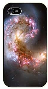 iphone 5c Nebula cloud - black plastic case / Space, Stars, Fantasy