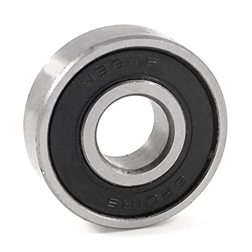 Deep Groove Ball Bearing - SODIAL(R) 6201RS Shielded Deep Groove Ball Bearing 32mm x 12mm x 10mm
