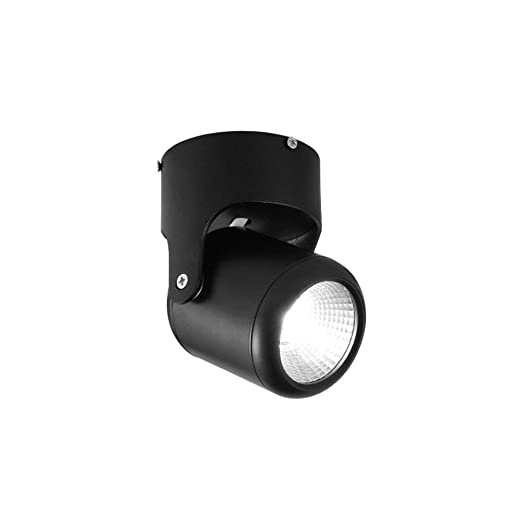 ZHAS Lámpara de Pared Foco de Techo Giratorio de 360 Grados Foco ...