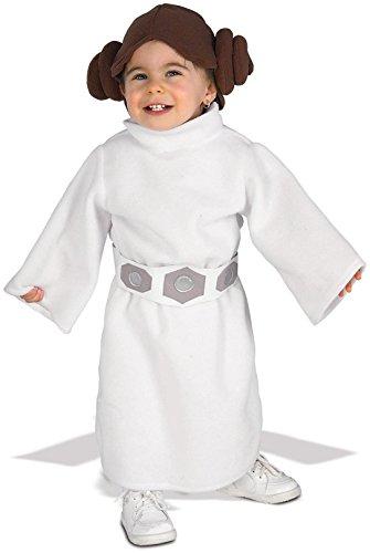 Princess Leia Toddler (Star Wars Princess Leia Fleece Infant/Toddler Costume - 2-4T)