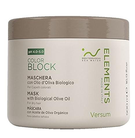 grande remise une grande variété de modèles économies fantastiques Versum Elements Color Block Masque avec huile biologique ...