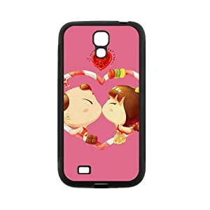 Love For Valentines PC Case For Samsung Galaxy S4 I9500 White AR267158