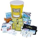 Emergency Disaster Preparedness Survival Kit, Earthquake, Fire, Flood, Hurricane, Evacuation or Tornado. Deluxe Office Emergency Kit - 5 Person