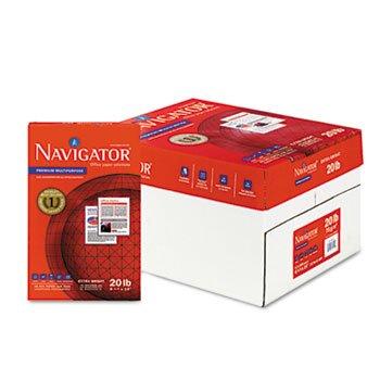 ** Premium Multipurpose Paper, 97 Brightness, 20lb, 8-1/2x14, White, 5000/Carton **