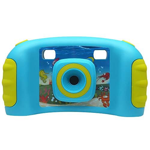 GLgl Niños cámara 2 Millones Pixel niños HD cámara Digital 1,77 HD Color Pantalla niños Video cámara para niños niñas...