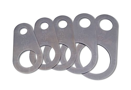 Plasma Stencil - Circle Cutter Guide - 5 pc. Kit - .430