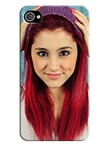custom fashionable Lovely Ariana Hard TPU phone case/cover/Shield/shell for iphone 4/4s