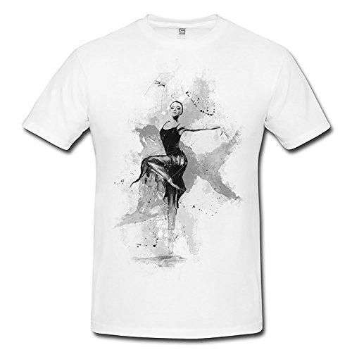 Ballett IV T-Shirt Herren, Men mit stylischen Motiv von Paul Sinus