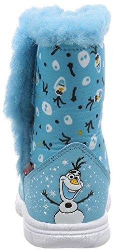 adidas Unisex Baby Disney Frozen Mid I Sneaker Azul (Azuvap / Ftwbla / Eqtnar)