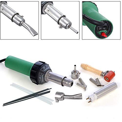 - Huhushop(TM) 110V Hot Air Torch Plastic Welding Gun Welder Pistol 1500W+ 2pcs Speed Nozzle +roller Free Ship via DHL