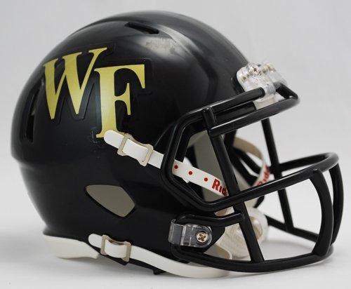 Wake Forest Demon Deacons Riddell Speed Mini Football Helmet (Forest Wake Mini)