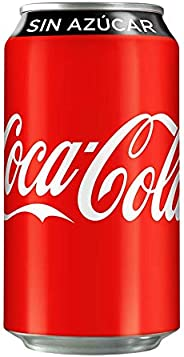 Coca-Cola Sin Azúcar, Lata 355ml 12-pack