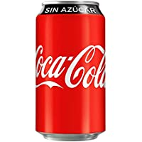 Coca-Cola Sin Azúcar, 12 Pack - 355 ml/lata