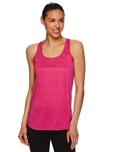 HEAD Women's Racerback Tank Top - Sleeveless Performance Activewear Shirt w/Open Back Options - Adapt Antigua Sand, X-Small