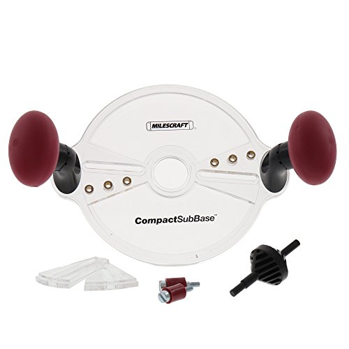 Milescraft 1225 CompactSubBase - For Trim Routers and Compact Routers