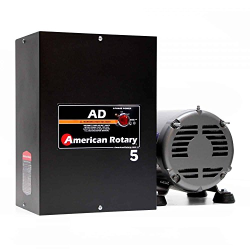 2 HP Welder American Rotary Phase Converter, 480 VAC Single to Three Phase, Wall Mount - AD-5-480-WD