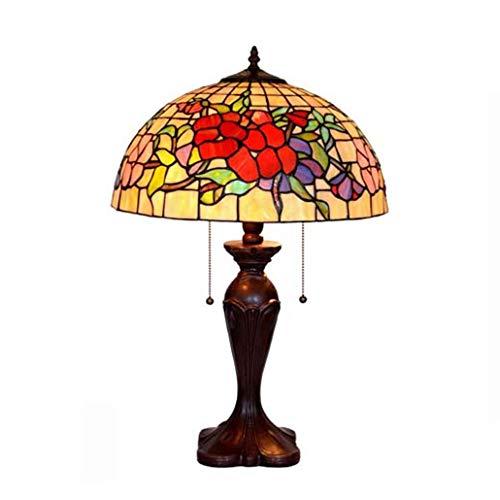 Lámpara De Mesa Estilo Tiffany, Lámpara De Escritorio Vintage ...