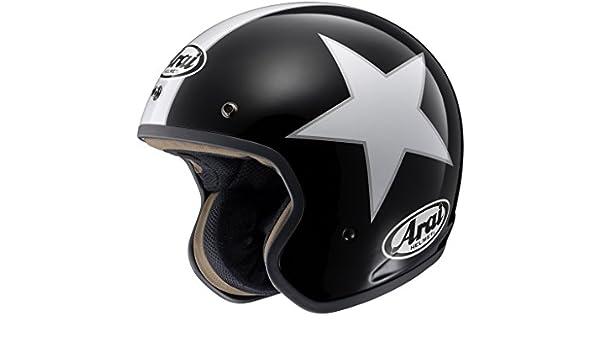 Arai – Casco de moto Jet Arai Freeway 2, (negro y blanco), S (55/56): Amazon.es: Coche y moto