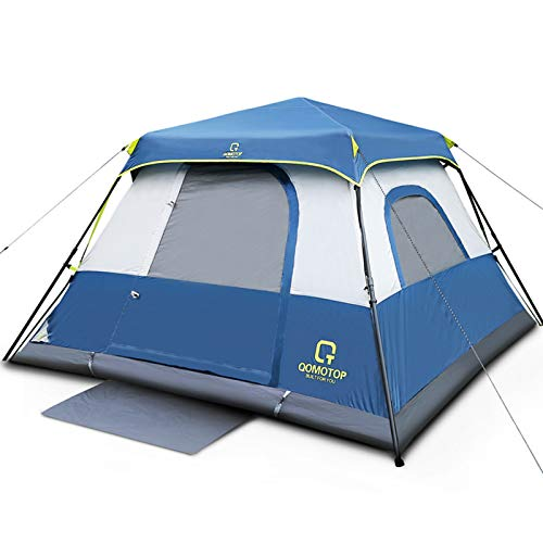 OT QOMOTOP Tents, 6/8/10 Person 60 Sec Set Up Camping Tent, Waterproof Family Tent with Top Rainfly, Instant Cabin Tent…
