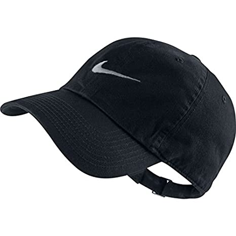 Buy Nike Swoosh Polyester Cap (Black) Online at Low Prices in India -  Amazon.in 2ea1eb0ec03e