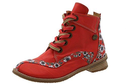 à Rot Femme Lacets Ville Rouge de Tiggers EU Chaussures pour 35 A6wqx78RH
