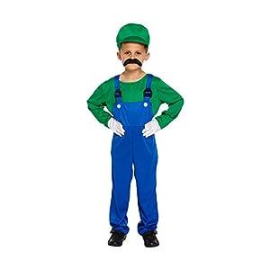 Smiffy's-Costume da Super resistente, colore: Verde, taglia S (4-6 anni) 17 spesavip