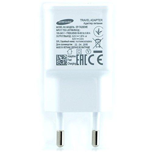 Samsung TA20/Cargador para Samsung Galaxy Express I8730/carga r/ápida AFC 2/A con cable micro USB 1,5/M blanco