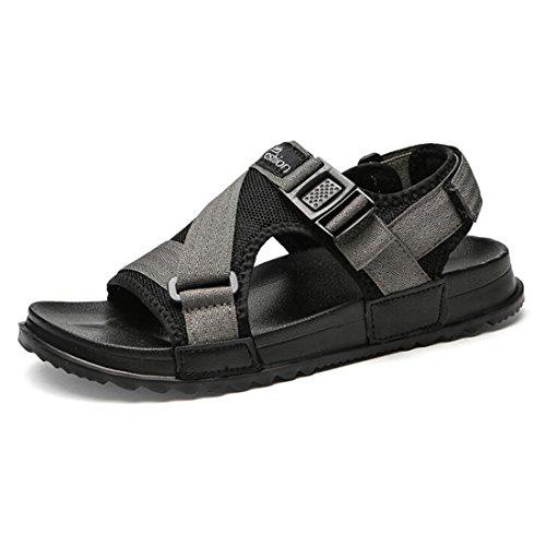 Estivi da Uomo Traspiranti SPI Sandali Sandali Moda Gray E alla Pantofole da Scarpe TxHddwqO
