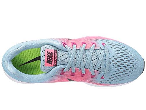Nike racer Running Air Pegasus Flyease sport Black Blue Fuchsia Zoom 34 Shoe Pink Mica Women's rwfqxBpr