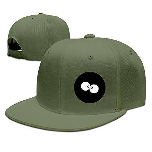 MaNeg Cartoon Eyes Unisex Fashion Cool Adjustable Snapback Baseball Cap Hat One Size - Fendi Eye Bag