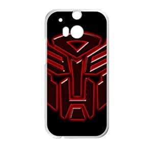 Transformers HTC One M8 Cell Phone Case White KKC