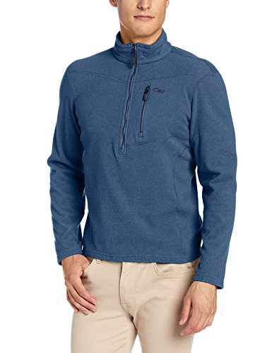 (Outdoor Research Men's Soleil Pullover, Night, Large )