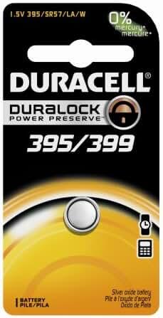 DURACELL D395/399B Watch/Calculator Battery