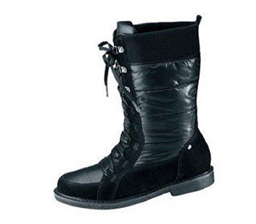 Botas de Cheer Terciopelo en negro Negro