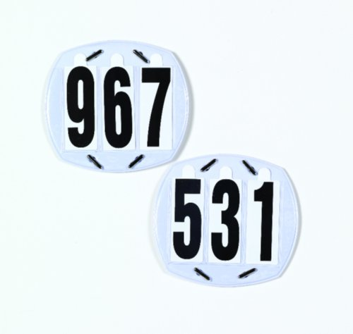 3-Digit Show Number Set None One Size