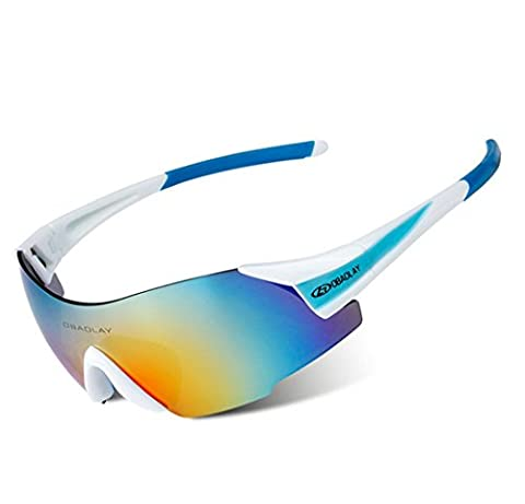 Wonzone Men Women Fashion Sports Sunglasses Polarized Glasses for Driving Cycling Running Fishing Golf Unbreakable Frameless (Scratch Golf Game Gear)