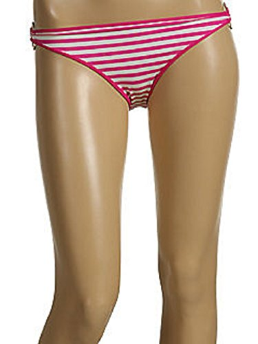Juicy Couture Bathing Swim Suit Bikini Ring Halter Pink Bottom