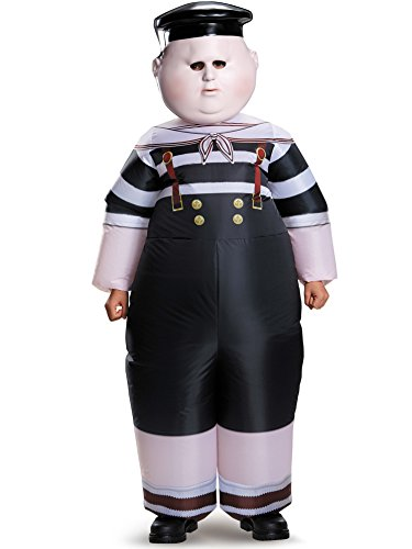 Funny Inflatable Costumes (Disguise Tweedle Dum/Tweedle Dee Inflatable Child Alice Through The Looking Glass Movie Disney Costume, One Size Child, One Color)