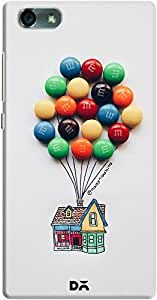 DailyObjects M&M Balloons Up House Case For Huawei Honor 4X