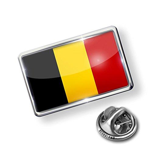 new Pin Belgium Flag - Lapel Badge - NEONBLOND free shipping