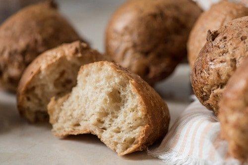 Preparado de Pan Blanco Orgánico, Sin Gluten, Libre de Lácteos, Sin Harina de Trigo, Sin Conservantes, 560 g, Hornea 11 Panecillos o 2 Barras, ...