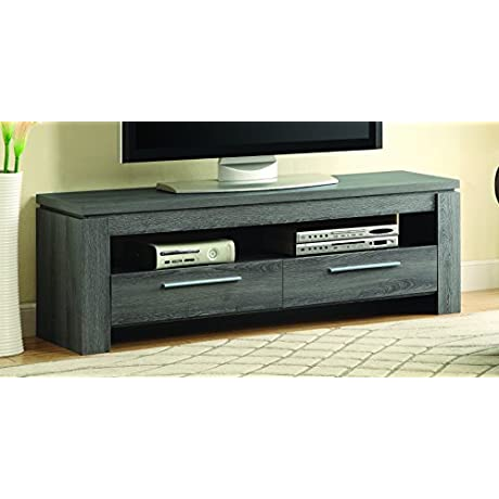 Coaster 701979 Home Furnishings TV Console Weathered Grey