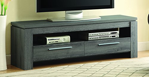 Coaster 701979 Home Furnishings TV Console, Weathered Grey
