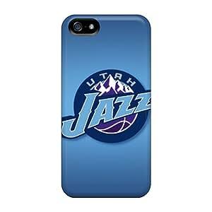 Premium Tpu Utah Jazz Cover Skin For Iphone 5/5s