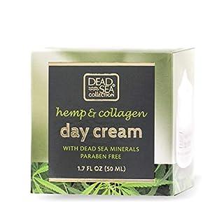 Dead Sea Collection Day Cream with Hemp & Collagen 1.69 fl.oz/ 50ml.
